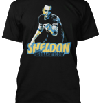Tričko Sheldon Cooper