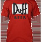 Tričko Duff Beer
