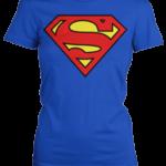 Superman tričko dámské